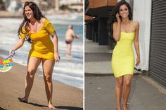 Vicky Pattison shows off her photos before and after weight loss