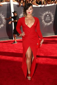 Demi Lovato at the MTV Video Music Awards Red Carpet - August 24th   VMAs 2014