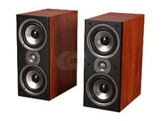 My rears for HT.    Polk Audio Monitor40 Series II Two-Way Bookshelf Loudspeaker (Cherry) Pair