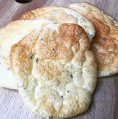 Cloud Bread - bread without carbohydrates: THE brilliant trend for all low-carb fans - Diet Recipes Low Carb Desserts, Low Carb Recipes, Healthy Recipes, Bread Recipes, Law Carb, Bread Substitute, Light Snacks, Cloud Bread, What Do You Mean