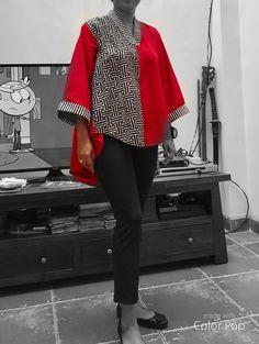 I am wearing #batiktale