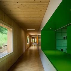 Image 11 of 18 from gallery of Operation Center Burgergemeinde / bauzeit architekten. Photograph by Yves André Ceiling Curtains, Ceiling Art, Amazing Architecture, Interior Architecture, Swiss Architecture, Floor Patterns, Wall Patterns, Office Interior Design, Tile Art