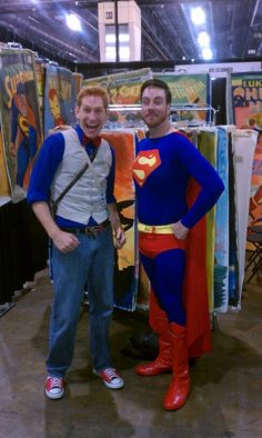 Day 3 - Superman and a Superfan
