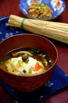 My Kitchen: Tamago Miso-shiru [卵みそ汁]