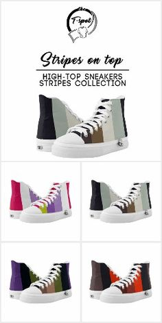 Stripes on Top - High-Top Collection