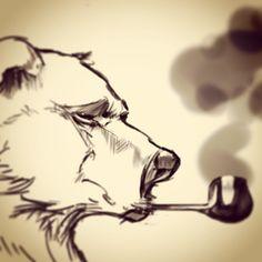 Creative Block Bears by Jerry Sabatini, via Behance