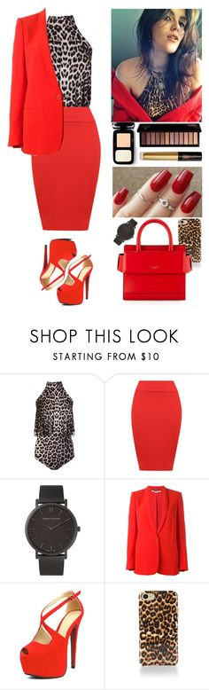"""""""00381."""" by annacastrolima ❤ liked on Polyvore featuring WearAll, Larsson & Jennings, STELLA McCARTNEY, Rebecca Minkoff, Givenchy, GET LOST, leopardprintandred, BrazilianModel and redandleopardprint"""