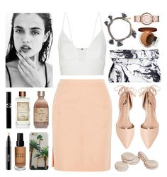 Sunblushed by sophiehackett on Polyvore featuring polyvore fashion style Narciso Rodriguez Alexander Wang Ava & Aiden Shashi Marc by Marc Jacobs Bobbi Brown Cosmetics Clinique MAC Cosmetics Sisley Paris