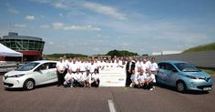 Renault ZOE sets new world record for distance travelled by production electric car