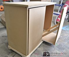 DIY Recycling Centre - A beginner build Built In Kitchen Bins, Kitchen Garbage Can Storage, Clever Kitchen Storage, Bathroom Storage Solutions, Kitchen Trash Cans, Recycling Storage, Garbage Recycling, Recycling Center, Storage Bins