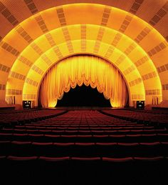 Purchase Radio City Music Hall tickets and check out Radio City Music Hall events, including the iconic Rockettes, Christmas Spectacular, and other events. Hall Curtains, Theatre Architecture, Christmas Spectacular, New York Tours, Radio City Music Hall, Music Theater, Art Deco Fashion, New York City, Cinema