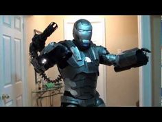 WAR MACHINE COSTUME Completed - SUIT UP Test  (IRON MAN 2 )