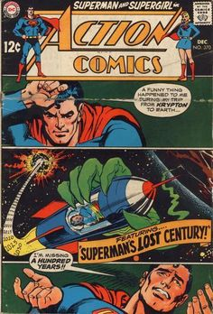 All pictures shown are of the actual scans of this comic book for sale (and which you will receive) and not from another source. This comic book, which is almost 50 years old, has a fairly decent looking cover shine, and an average crispness level. Marvel Comics, Superman Action Comics, Superman Comic, Batman, Superman Artwork, Superman Stuff, Dc Comic Books, Vintage Comic Books, Comic Book Artists