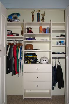 Customize your own allen + roth closet organization system to ...