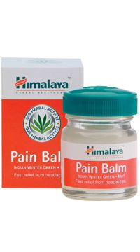 pain balm  Pain Balm is a quick acting headache and body ache reliever.  Directions for use:  Massage gently on affected area 2-3 times daily for quick relief from headaches, body aches and other pains. Indications:  It is useful in cases of:  Headaches Mild aches and pains Myalgias of varied etiologies. http://www.shopcost.in/himalaya+pain+balm