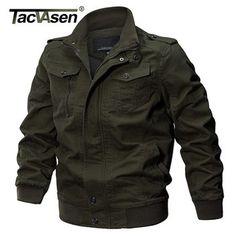 Military Jacket Men Winter Cotton Jacket Coat Army Men's Pilot Jackets Air Force Spring Cargo Jaqueta TD-QZQQ-009