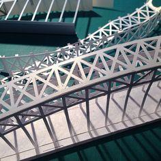 Sydney Harbour bridge in the making https://instagram.com/p/fpfuHsDxbC/?taken-by=paperlandmarks