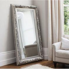 Gallery Direct Antwerp Leaner Mirror Silver 705