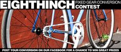 EighthInch Fb Conversion Contest: Post Your Conversions on our Fb Page for a Chance to Win Great Prizes - http://www.facebook.com/EighthInch
