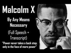 Malcolm X in Los Angeles May 5, 1962 - YouTube