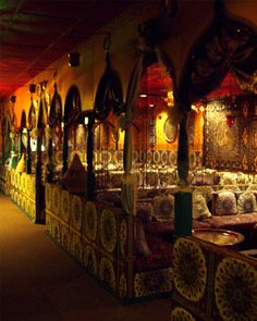 Casablanca Morrocan Restaurant-  delicious and fun, but beware of the cracked out bellydancers