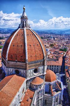 Basilica di Santa Maria del Fiore, Florence, Tuscany, Italy...miss my travels, cannot believe been to all these places already
