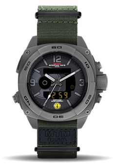 Tactical Watch   Silver RAD   MTM Special Ops Watches