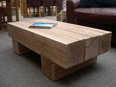 Retail railway sleeper tables