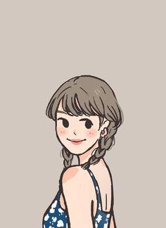 Cartoon Art Styles, Cute Art Styles, Cute Sketches, Cute Drawings, Character Drawing, Character Design, Cute Couple Art, Dibujos Cute, Cute Cartoon Wallpapers