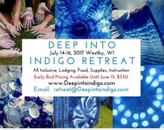 Deep Into Indigo Retreat 2017!! http://ift.tt/2kZcRlK