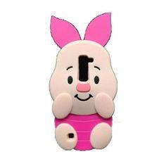 Jicheng Electronic LG K10 Pig Case,LG Premier LTE L62VL L61AL Case,LG Q10 Case,3D Cute cartoon Pig Silicone Back Cover Case for LG K10 / LG Premier LTE L62VL L61AL (Pink)