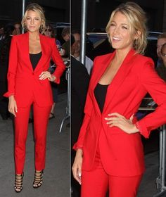 I think a red suit is a future wardrobe must have