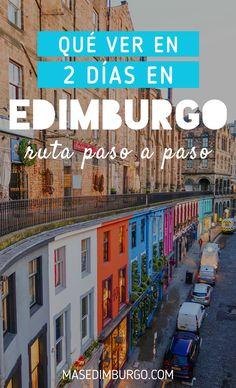 Itinerario para visitar Edimburgo en 2 días. Descubre lo mejor de la capital escocesa con estas rutas paso a paso. #Edimburgo Scotland, Things To Do, Friends, Edinburgh, Paths, Cities, Travel, Things To Make, Boyfriends