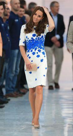 Duquesa de Cambridge Acto: Visita a Bute Mills, Luton (Reino Unido). Fecha: 24…