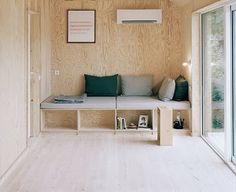 plywood built-ins