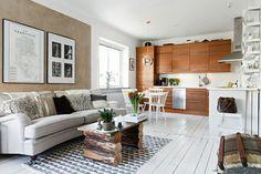 Rústico, bonito, pequeño apartamento y con mucho encanto