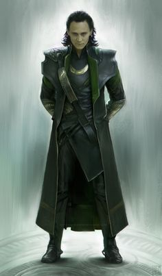 Loki... Very jealous of people with this level of artistic talent...