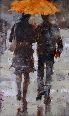 Passeando em Paris - Andre Kohn e suas pinturas - Impressionismo Figurativo