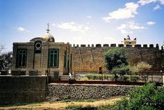 Holy of holies that reportedly houses the arc of the covenant, Axum, Ethiopia | Flickr - Photo Sharing!