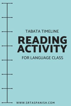 Check out this quick, easy, and fun reading activity for your middle school or high school Spanish classes! Students read any story or text and complete a sequencing activity. Great for individual, partner, or whole class reading! So simple to use but effective! Click to see more! #spanishclass #secondaryspanish Sequencing Activities, Class Activities, Reading Activities, Spanish Classroom, Teaching Spanish, Middle School Spanish, Spanish Lesson Plans, Spanish 1, Student Reading