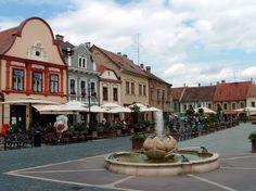 Main Square, Kőszeg (pr. koe-seg) #Hungary Heart Of Europe, Danube River, European Countries, Central Europe, Hungary, Romania, Budapest, Belgium, The Good Place