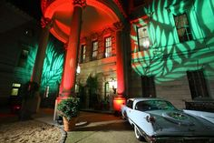 """Phillips Gala: At the Phillips Collection's annual gala in 2012, the Washington Art Museum chose """"Havana Nights"""" as the theme of its after-party to honor the Havana Arts Biennial. A 1959 Chrysler parked outside the Anderson House as well as palm tree projections set the tone at the entrance. In the back lawn, a cigar roller and salsa and meringue music from the Latin band Sin Miedo continued the theme."""