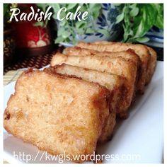 Radish cake