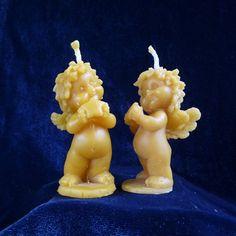V 5 Anděl diblik 1 - Svíčky ze včelího vosku