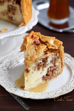 baklava cheesecake / baklava cheesecake...make cupcake version of this
