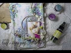 Mixed Media Photo Frame by Evgeniya Zakharova - YouTube