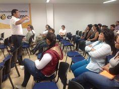 @Escolmeeduco Continuamos con la charla Servir con el alma y trascender fronteras orientada por Manuel Pérez