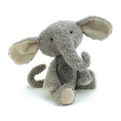 Vintage Elephant - Peluche Elephant 35 cm (VINT3E) : achat / vente Peluche sur maginea.com