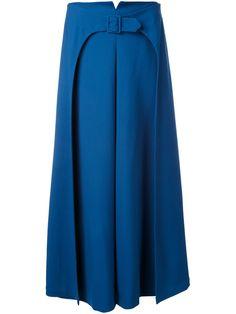 Vilshenko юбка А-образного силуэта с поясом