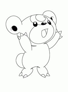 Teddiursa Pokémon Pokemon Coloring Page. Are You Looking For NORMAL POKEMON Coloring  Pages? Hellokids Has Selected This Lovely Teddiursa Pokémon .